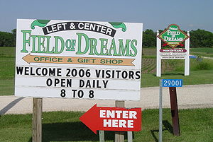 location Field of dreams