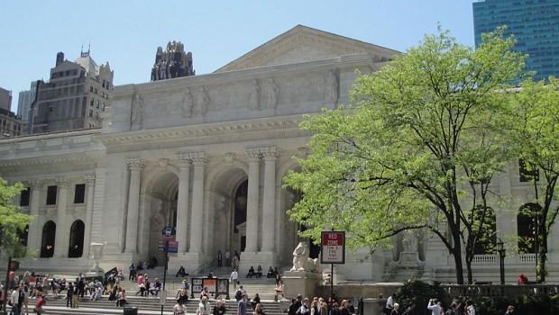 New York Public Library (scena iniziale del film)